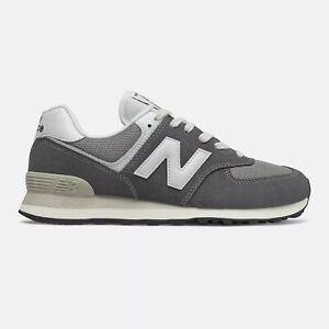 NEW BALANCE 574 Classic Scarpe Uomo Sneakers Suede Textile GREY ML574HD2