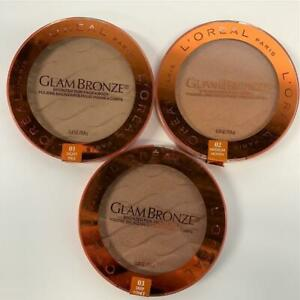 Loreal Glam Bronze for Face & Body Bronzer Choose Your Shade New Sealed