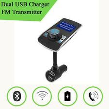 Wireless Car Bluetooth MP3 Player 3.1A Dual USB Charger FM Transmitter Hand-free