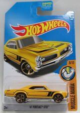 Hot Wheels Muscle Mania 8/10  '67 Pontiac GTO 359/365 Mattel