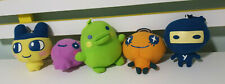TAMAGOTCHI CHARACTER TOYS FROM RED ROOSTER 2008 FULL SET OF 5! BANDAI WIZ