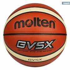 YOUTH Molten Official Size 5 Indoor Outdoor 27.5'' GV5X PU Leather Basketball