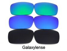 Galaxy Replacement Lens For Oakley Canteen(2006-13) Sunglasses Black/Blue/Green