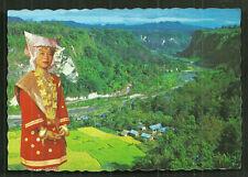 Minangkabau Girl Costume Sianok Valley Sumatra Indonesia stamps