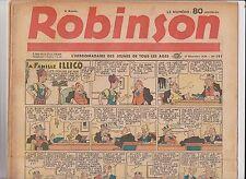 ROBINSON n°191 - 25 décembre 1939 -