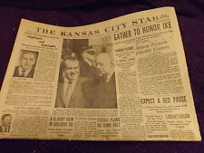 Vintage Newspaper : March 31, 1969 Kansas City Star Sec. A Gather to honor IKE