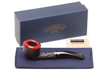 Savinelli Roma 305 Black Stem Tobacco Pipe