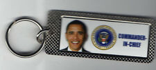 President OBAMA Commander-in-Chief Super KEYCHAIN