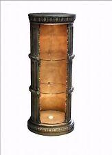 Vitrine Bar Amphore Vase mit Licht Säule Möbel Deko Wohnen Regal  1858 F9