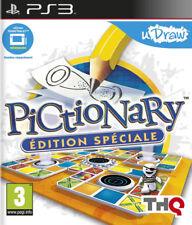 Jeu PS3 Pictionary Edition Spéciale U Draw Neuf sous Plastique
