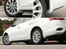 For Nissan Sentra 2016-2019 White Splash Guards Mud Flaps Mud Guards Fender 4PCS