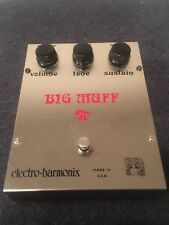 1970's Electro Harmonix Big Muff Pi Rams Head Fuzz Guitar Effects Pedal EH3003