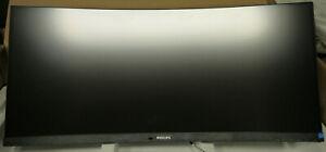 "Philips 346B1C 34"" UWQHD 3440 x 1440 2K Resolution USB-C KVM curved Display"