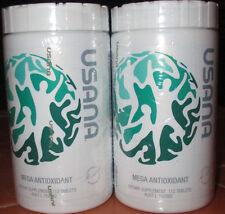 2X Usana mega Antioxidant Dietary Supplement 224 Tablet vitamins 4/18 BEST PRICE
