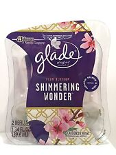 Glade Plugins Scented Oil Refills SHIMMERING WONDER - Twin pack RARE