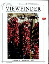 Leica Viewfinder Magazine Volume 40 Number 2 2007 Will Wright EX 032817lej