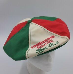 Gatsby ~ VTG ~ Lombardo Reunite ~ Bocci Ball Tournament adjustable hat ~ USA