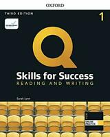 Q: Skills for Success: Level 1: Reading and Writing Student Book with iQ Online