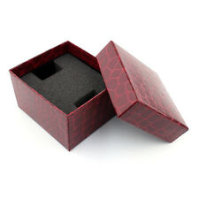 Crocodile Durable Present Gift Box Case For Bracelet Bangle Jewelry Watch Box UK