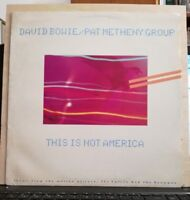 DAVID BOWIE/PAT METHENY GROUP - THIS IS NOT AMERICA + instrumental E.P.45 GIRI