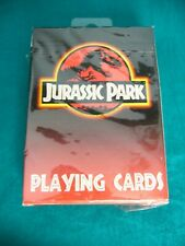 Vintage ~JURASSIC PARK~ Playing Cards New Sealed Package 1993