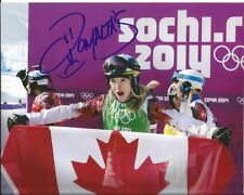 DOMINIQUE MALTAIS signed 8x10 photo SKIING SOCHI