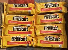 New 8 DURAFLAME Firestart Firelighters For Fire Pits **FREE SHIPPING**