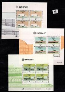 PD PORTUGAL 1987 - MNH - EUROPA CEPT - ARCHITECTURE