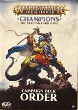 Warhammer Champions | Ordnung (deu.) | Preconstructed Deck | Trading Card Game