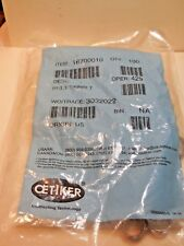 (100 Pcs) OETIKER , 16700010, Hose Clamp, SS, Nom.Size. 1/2 In .NEW