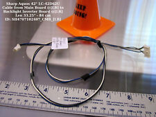 "Sharp Aquos 42"" LC-42D62U Cable from Main Board @[LB] to Backlight Inverter"