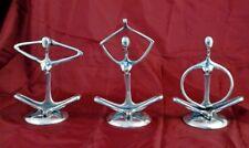 Yoga Indio Figuras-éticamente procedente de Rajastan, India-Aluminio