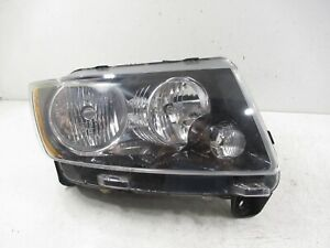 OEM 2012 - 2016 Jeep Compass Halogen Headlight (Right/Passenger) - BLACK