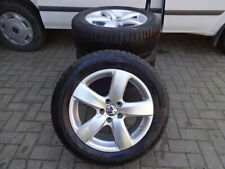 Original VW Tiguan I Alufelgen Boston Winterreifen 235/55R17 DOT15 8-9mm RDKS