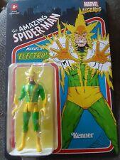 Electro Marvel Legends Kenner Retro 3.75? Figure 2021 Spider-Man Hasbro