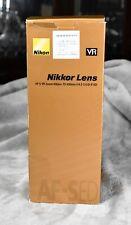 Mint Nikon Zoom 70-300mm f/4.5-5.6G IF-ED AF-S VR Box, Hood, Paperwork!