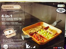 QuadraPan Professional 4-in-1 Multi Cooking Pan As seen On High Street TV