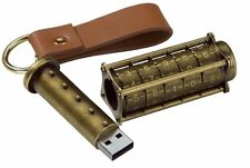 Cryptex 16Gb USB Flash Drive - Ultimate Geek Gadget!  (steampunk style)