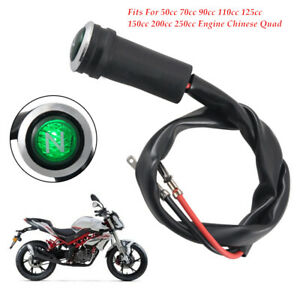 Motorcycle LED Neutral Indicator Light N Speed Digital Gear Shift ATV SUV kit