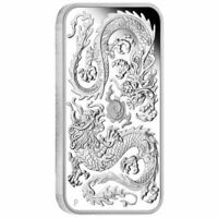 2020 Dragon 1oz Silver Proof Rectangle Coin
