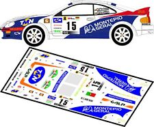 DECALS 1/43 TOYOTA CELICA GT-4 St205  #15  MADEIRA RALLYE PORTUGAL 1998 - D43048