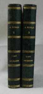 Auguste NICOLAS L'art de CROIRE 2/2 prép philosophique foi chrétienne 1867 BRAY