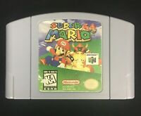 Super Mario 64 Cartridge (Nintendo 64 1996) Cleaned Tested & Authentic N64 Game