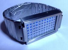 TOKYOFLASH SEAHOPE ELEENO DUAL TOUCH ORANGE/BLUE LED WATCH, COOL, FUTURISTIC