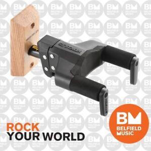 Hercules GSP38WB PLUS Guitar Hanger Wall Mount Auto Grip Short Arm Wooden