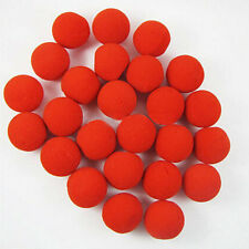 10Pcs RED Foam Circus Clown Nose Ball Comic Halloween Party Cosplay Magic Dress
