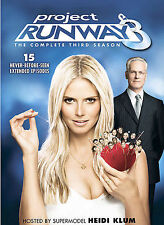 Project Runway - The Complete Third Season (DVD, 2007, 4-Disc Set)