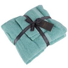 Articles et textiles verts coton pour la salle de bain