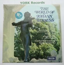 SPA 10 - STRAUSS - The World Of Johann Strauss - Excellent Condition LP Record
