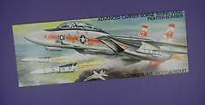 Airfix Negozio Pubblicità CARD 1970s-Grumman F-14A TOMCAT statunitensi cacciabombardiere